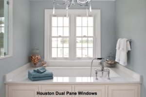 Double pane replacement windows in Houston, TX.